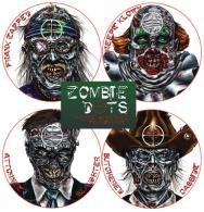 Zombie Dots Targets Variety Pack 12 Per Pack