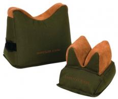 Gorilla Bench Rest Shooting Bags Front and Rear Filled - 40468