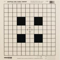 Rifle Scope Sight-In Tagboard Target 12 Per Pack - 40746