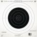 100 Yard Single Bullseye Paper Target 12 Per Pack - 40762