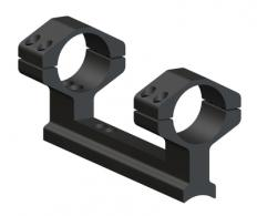 Muzzleloader 1 Piece Ring and Base Set High Matte Black Traditio - 48544