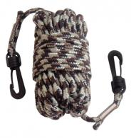 Pull-Up Nylon Rope With Snap Hooks At Both Ends 30 Feet Camoufla - 6533