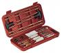 32 Piece Universal Cleaning Kit In Hard Plastic Case Red - 70072