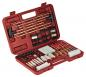 62 Piece Universal Cleaning Kit In Hard Plastic Case Red - 70074