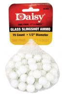 Glass Slingshot Ammunition .50 Inch 75 Per Pack - 8383