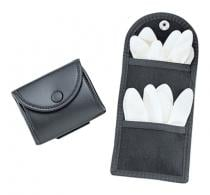 Double Latex Glove Pouch Black - 88961