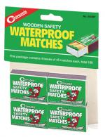 Waterproof Wooden Matches Approximately 45 Per Box Four Boxes Pe - 940BP
