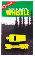 Plastic Signal Whistle With Lanyard - 9420