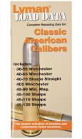 Load Data Book Classic Rifle Calibers - 9780020