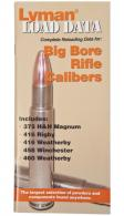 Load Data Book Big Bore Rifle Calibers - 9780022
