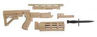 Ruger 10-22 Archangel Rifle Conversion Package Desert Tan