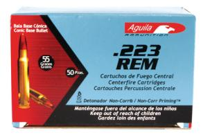 Aguila Mil-Spec .223 Remington 55 Grain Full Metal Jacket