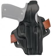 Fletch High Ride Holster For Walther PPK/PPKS Black Right Hand