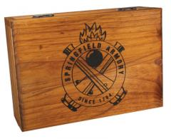 Wooden Battery Box Single Pistol - GE5051