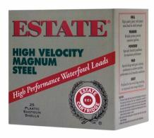 Estate High Velocity 12 Gauge 3 Inch 1500 FPS 1.125 Ounce 2 Stee