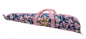 Davey Crickett Scoped Rifle Case with Davey Crickett Logo Pink C - KSA035PC
