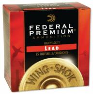 Wing-Shok 12 Gauge 2.75 Inch 1400 FPS 1.125 Ounce 6 Shot