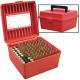 R-100 Rifle Ammo Boxes .22-250 to .375 H&H Magnum Red