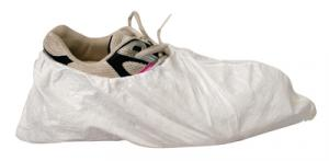 EconoWear Tyvek White Disposable Shoe Covers Size Large 100 Per