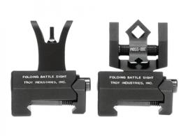 Micro M4 Front and DOA Rear Folding BattleSight Set Flat Dark Ea - SSIGMCMSSFT00