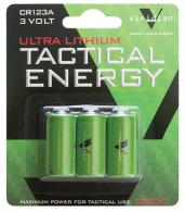 Tactical Energy Ultra Lithium CR123A Batteries 3-Pack - VIR-CR123-3