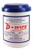 D-Wipe Disposable Towels 150 Per Container 8 Per Case - WT-150