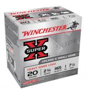 Super-X Heavy Game 20 Gauge 2.75 Inch 1165 FPS 1 Ounce 7.5 Shot - XU20H7