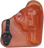 Model 100T Professional Tuckable Waistband Holster Ruger LCR/S&W J Frame 2 Inch Size 1 Plain Tan Right Hand