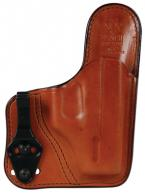 Model 100T Professional Tuckable Waistband Holster Springfield XD-S/Glock 26/27 Size 10A Plain Tan Right Hand
