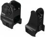 Fixed Front And Rear Sight Combo Black - DD-09116