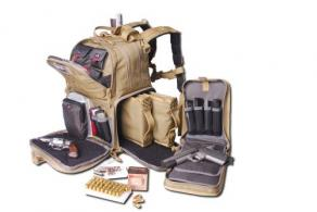 Tactical Range Backpack Tan - GPS-T1612BPT