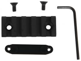 Lancer Accessory Rail With Hardware 2 Inch Black - LCH5-2-RAIL