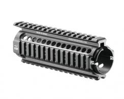 Combat Aluminum Quad Rail Handguards For M4/AR-15 Style Carbine Length - NFR