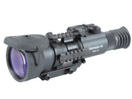 Nemesis 4X SD - Standard Definition Gen 2+ 4X Magnification with 10 Degrees FOV Detachable Infrared Illuminator Black - NRWNEMESI42GDS1