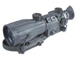 Orion Gen 1+ 4X Magnification Illuminated Red Cross Reticle Variable Reticle Brightness Rubberized Body Black - NWWORION0411I11