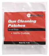 100% Cotton Cleaning Patches .22-.270 Caliber 100 Per Package - P-201