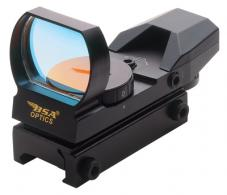 Panoramic Rugged Red Dot Sight Clam Packaged - PMRSCP