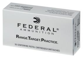 Federal Range and Target Handgun Ammunition 9mm 115 Grain Full Metal Jacket