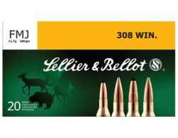 Rifle Ammunition .308 Winchester 180 Grain Full Metal Jacket