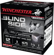 Blind Side Steel Hex High Velocity Waterfowl 12 Gauge 3 Inch 1675 FPS 1.125 Ounce 2 Shot