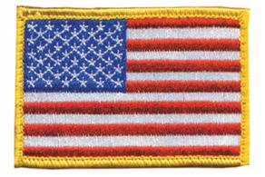 American Flag Patch Standard Full Color 2x3 Inches - 90RWBV
