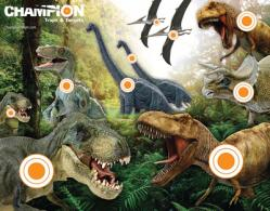 Full-Color Targets Dinosaur 11x14 Inches 12 Per Package - 01003797