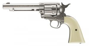 Colt Peacemaker .177 Caliber BB 5 Inch Barrel Nickel Finish Six-Shot - 2254048