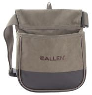 Select Canvas Double Compartment Shell Bag Olive Green - 2306