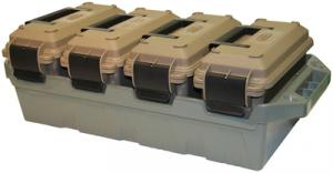 4- Can Ammo Crate Flat Dark Earth/ Army Green - AC4C