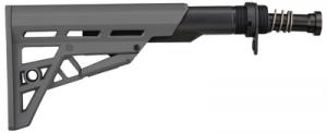 AR-15 TactLite Six Position Mil-Spec Stock With Military Buffer Tube Assembly Destroyer Gray - B.2.40.2214