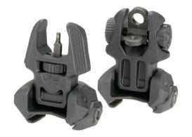 Meprolight Back-Up Flip-Up Sight Set Front/Rear Tritium 4 Dot - FRBS M4D
