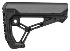 AR-15/M4 Skeletonized-Style Buttstock Black - GL-CORE