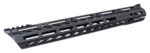 Lo-Pro Free Float Slope Nose Qual Rail With M-LOK 15 Inch Mil-Spec Finish - LPSN15MLOK