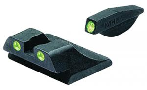 Meprolight Self Illuminated Tru-Dot Fixed Night Sights for Ruger P89 Series Pistols Green/Green - ML10990G